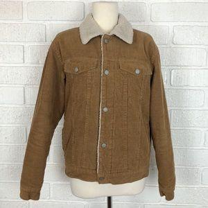 BRANDY MELVILLE corduroy lined trucker jacket